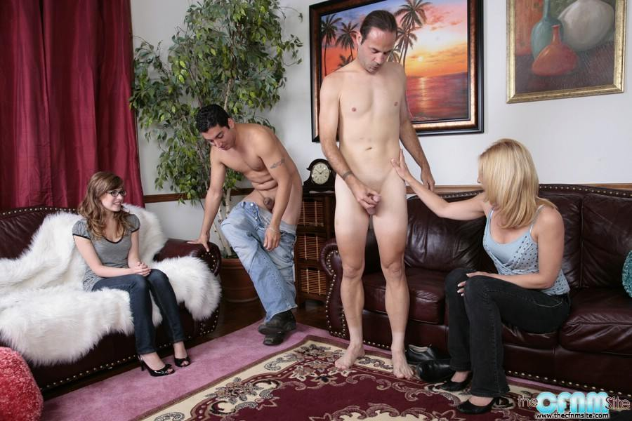 Mistress forces me to suck cock
